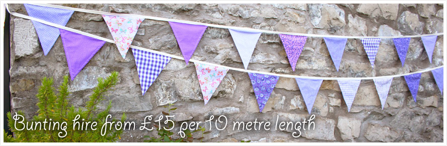 Bunting to Hire from £15